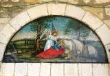 Монастырь Илии пророка (Дейр-Мар-Ильяс)  :: Ангел подкрепляет пророка Илию