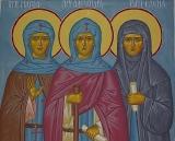Преподобные Александра, Марфа и Елена Дивеевские